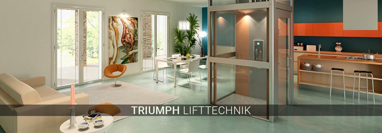 Treppenlifte für Hürth - Triumph Lifttechnik: Hublifte, Treppenliftsysteme
