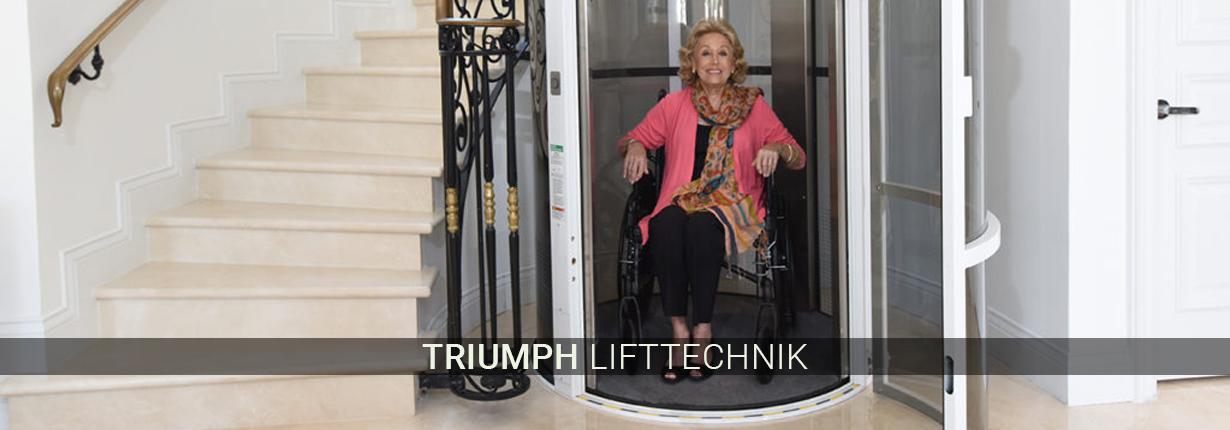 Treppenlifte für Moers - Triumph Lifttechnik: Hublifte, Kurventreppenlifte