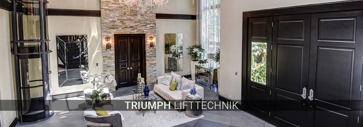 Treppenlifte in Waltrop - Triumph Lifttechnik: Hublifte, gerade Lifte