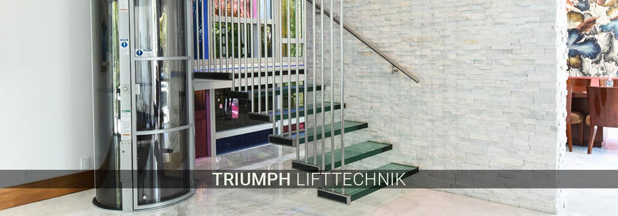 Treppenlifte in Wülfrath - Triumph Lifttechnik: Hublifte, gerade Lifte