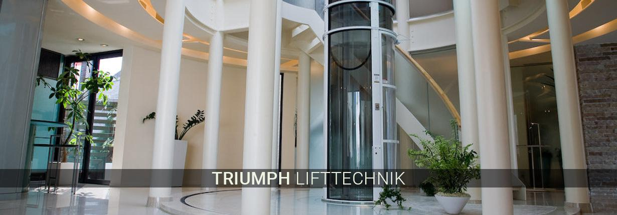 Treppenlifte für Velbert - Triumph Lifttechnik: Hublifte, gerade Lifte