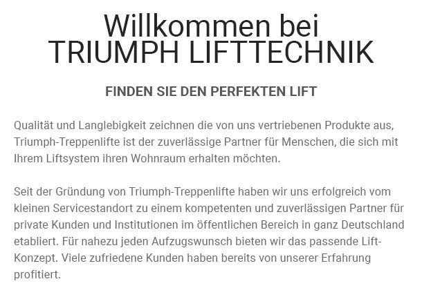 Treppenlifte mieten aus  Waltrop, Dortmund, Recklinghausen, Herne, Datteln, Lünen, Olfen oder Selm, Castrop-Rauxel, Oer-Erkenschwick